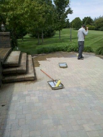 sealing brick paver patio south elgin, il
